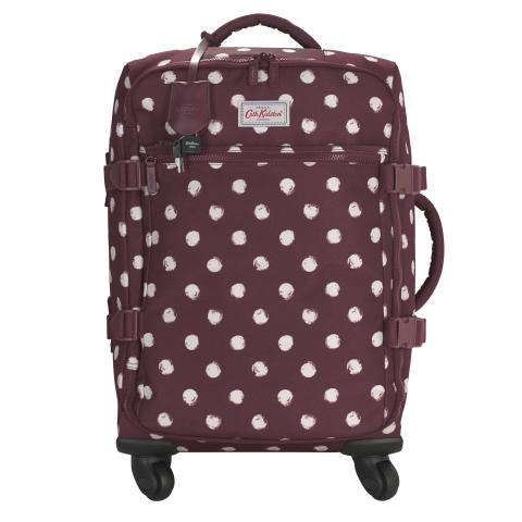 FOUR WHEEL CABIN BAG SMUDGE SPOT MAROON
