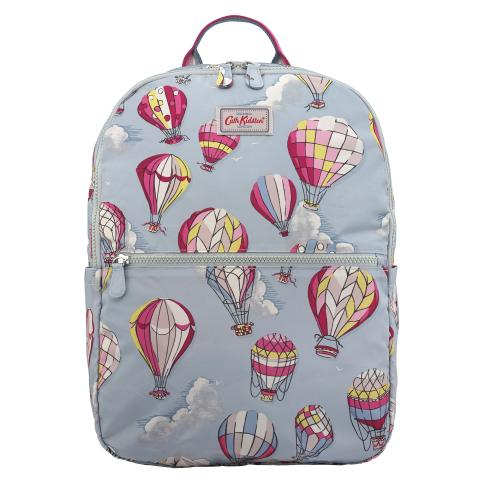 FOLDAWAY BACKPACK HOT AIR BALLOONS DUSTY BLUE