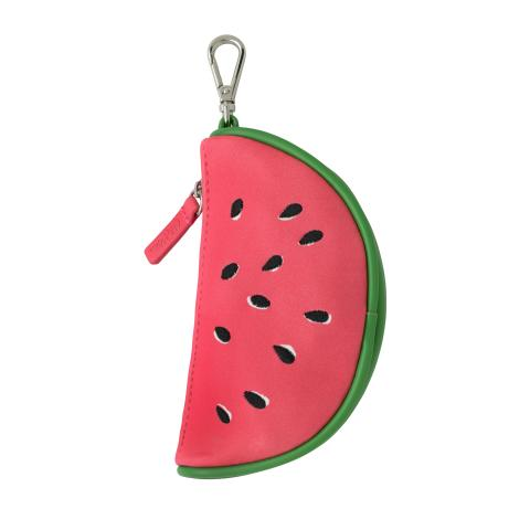 WATERMELON FOLDAWAY BAG CHARM WATERMELONS LIGHT CAMEO PINK