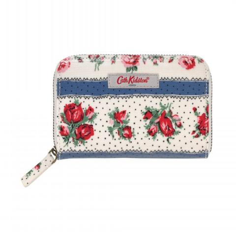 POCKET PURSE RIBBON ROSE