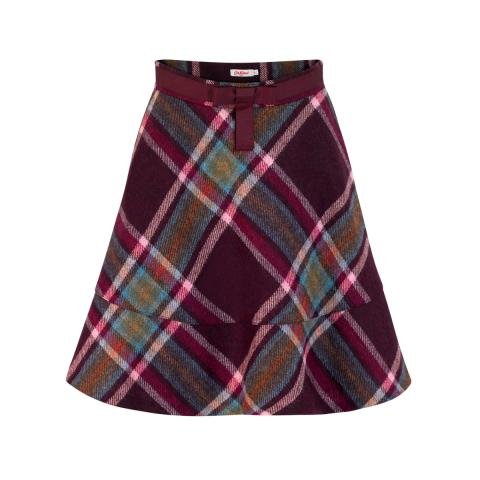 Clarendon Check Skirt