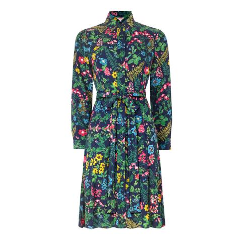 TWILIGHT GARDEN SHIRT DRESS