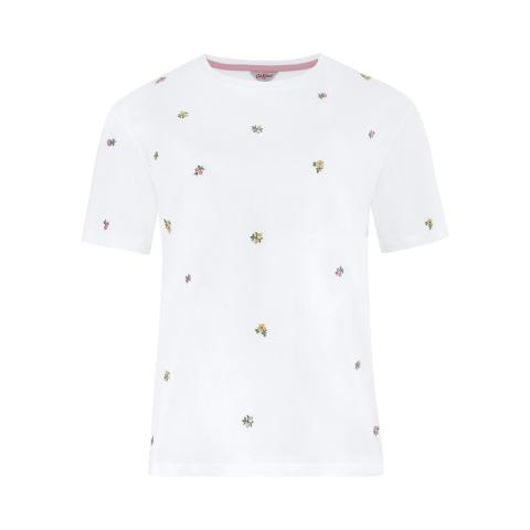DITSY EMBROIDERED T-SHIRT