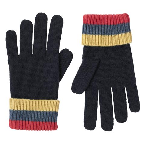 GLOVES STRIPE NAVY