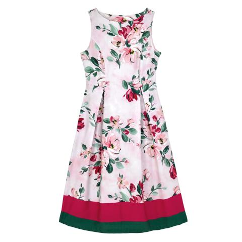PAINTBOX FLOWERS PL02 DRESS