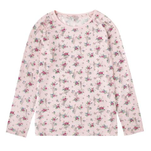 DISNEY MODAL LONG SLEEVED TOP TINKER BELL POSY SOFT PINK XS