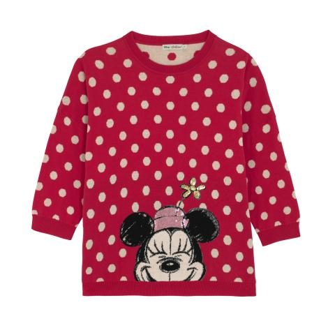 DISNEY PLACEMENT JUMPER MICKEY & FRIENDS PLACEMENT BRIGHT RED