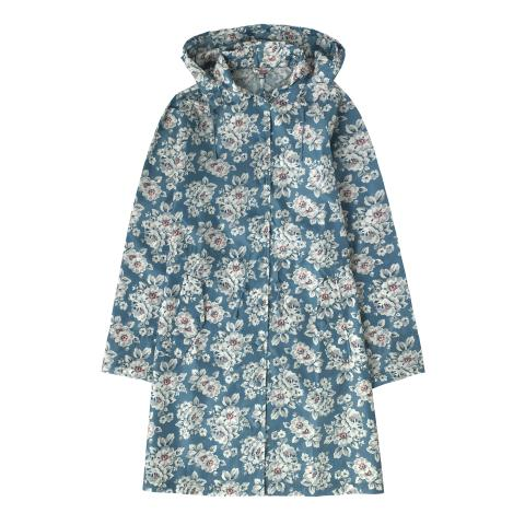 LONG RAIN JACKET ELVINGTON ROSE SOFT TEAL S