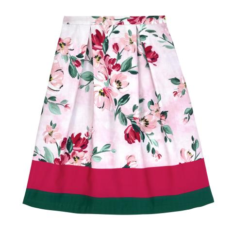 PAINTBOX FLOWERS PL02 SKIRT 12