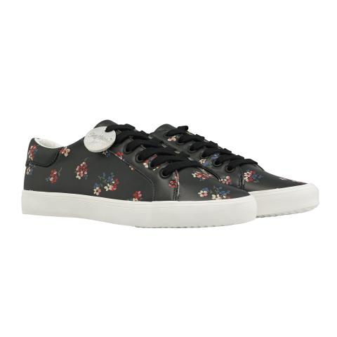 PRINTED TRAINER WOODSTOCK DITSY CHARCOAL