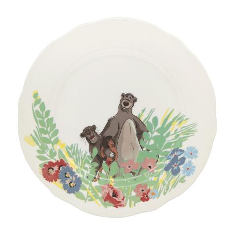 DISNEY PLATE IN THE JUNGLE