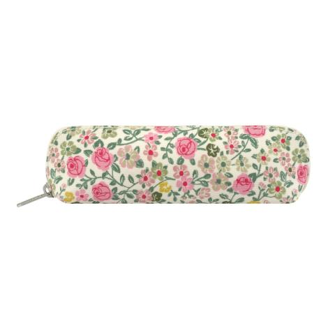 CURVED PENCIL CASE HEDGE ROSE