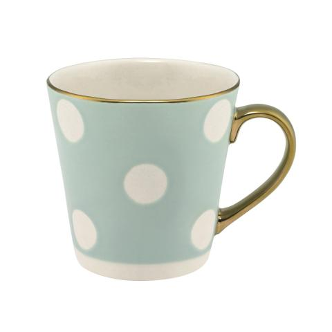Button Spot Mini Stanley Debossed Mug Blue