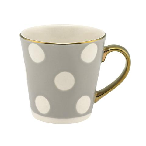 Button Spot Mini Stanley Debossed Mug Grey