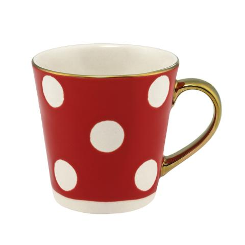 Button Spot Mini Stanley Debossed Mug Red