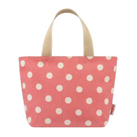 LUNCH TOTE BUTTON SPOT TWILL