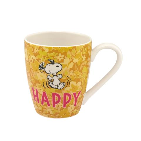 MUG SNOOPY HAPPY PAPER DITSY