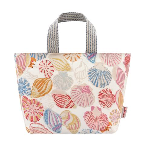 LUNCH TOTE SEASIDE SHELLS