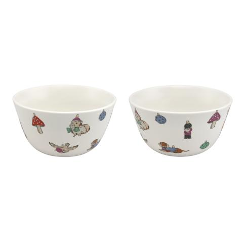 TWO BOWLS NOVELTY BAUBLES