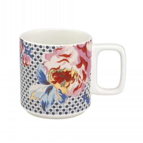 STACKABLE MUG GEO BRAMPTON ROSE