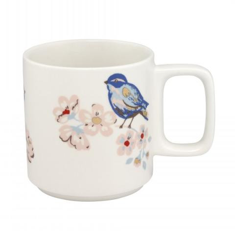 STACKABLE MUG SPRING BIRDS