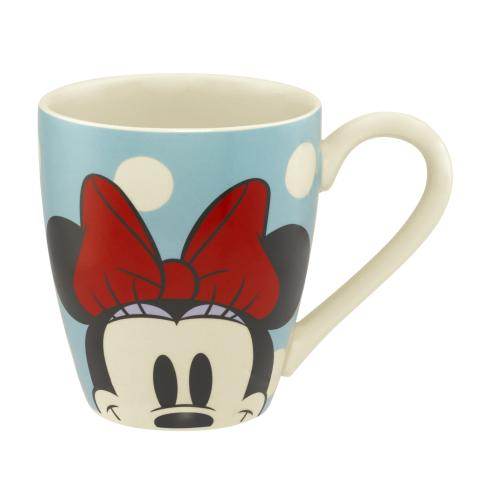 DISNEY MUG MICKEY & MINNIE SPOT AQUA