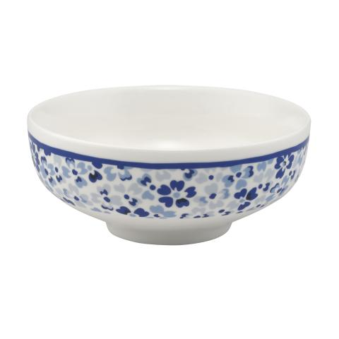 RICE BOWL SPRAY DITSY MID BLUE