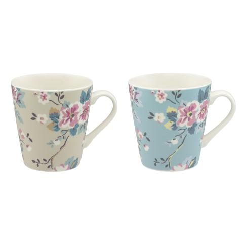 SET OF 2 MINI STANLEY MUGS TRAILING ROSE