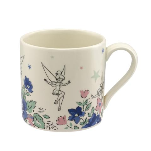 DISNEY MUG SKETCHED TINKER BELL OFF WHITE