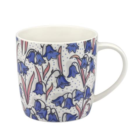 AUDREY MUG BLUEBELLS CREAM BLUE