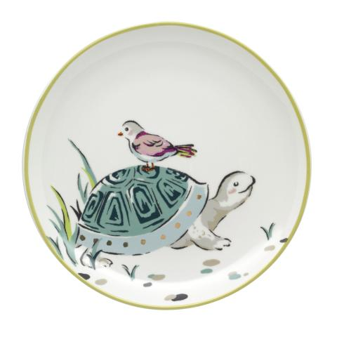 TORTOISE TEA PLATE PARK WILDLIFE PLACEMENT 5 SPRING GREEN