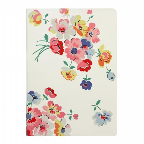 A5 SOFT COVER NOTEBOOK LARGE MALLORY BUNCH CREAM