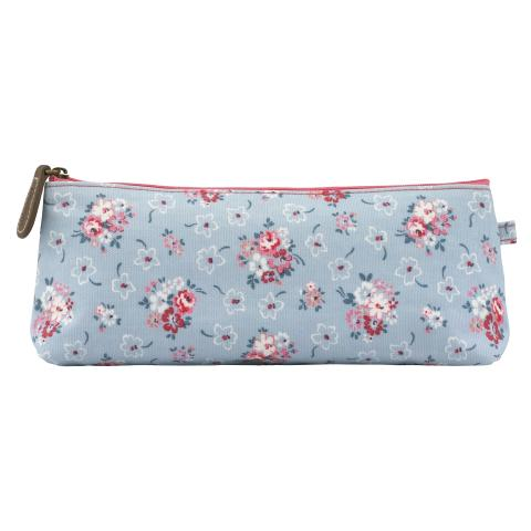 TRAPEZE PENCIL CASE LUCKY BUNCH DUSTY BLUE