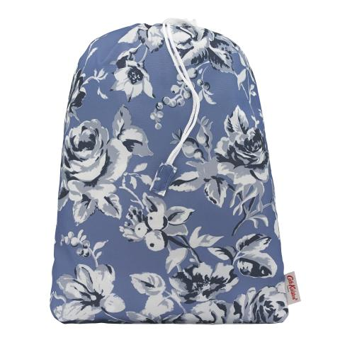 MULTI STORAGE ETCHED FLORAL PERIWINKLE