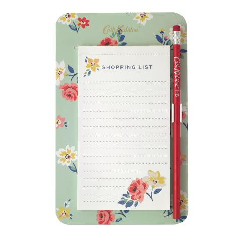 MAGNETIC TO DO LIST HAMPSTEAD DITSY MINT