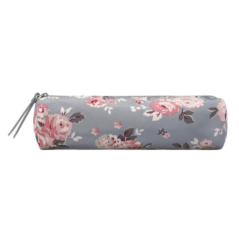 TUBE PENCIL CASE WELLS ROSE SLATE BLUE