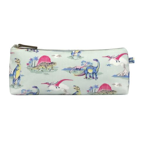 TRAPEZE PENCIL CASE DINO MINT
