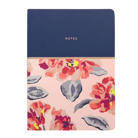 SOFT COVER NOTEBOOK SPRING BLOOM PLASTER PINK