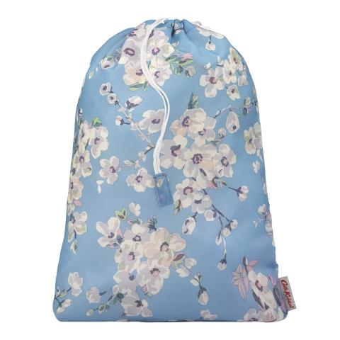 SHOE BAG  WELLESLEY BLOSSOM SOFT BLUE