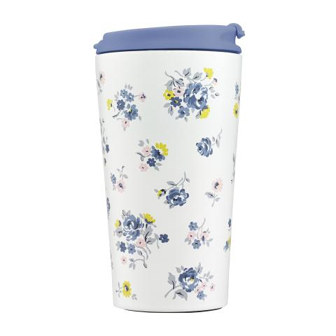 SMALL TRAVEL CUP KEW SPRIG PERIWINKLE