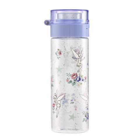DISNEY WATER BOTTLE TINKER BELL POSY OFF WHITE