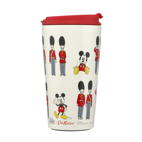 DISNEY SMALL TRAVEL CUP MICKEY AND GUARDS IVORY