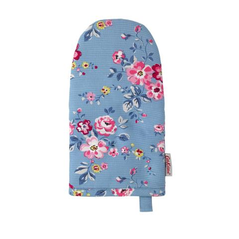 OVEN GAUNTLET SMALL THORP FLOWERS SOFT BLUE