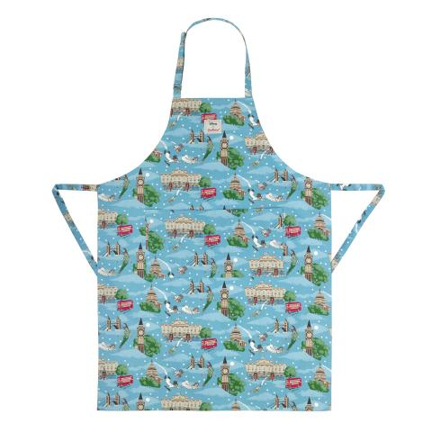 DISNEY APRON PETER PAN IN LONDON TURQUOISE