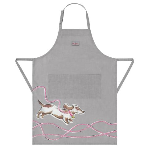 PLACEMENT DOG APRON MONO DOG PLACEMENT PALE GREY