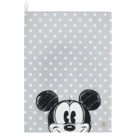 Disney Placement Tea Towel Mickey Mickey & Friends Placement Light Grey