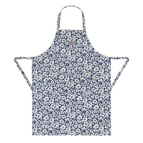 APRON DIDWORTH FLOWERS NAVY