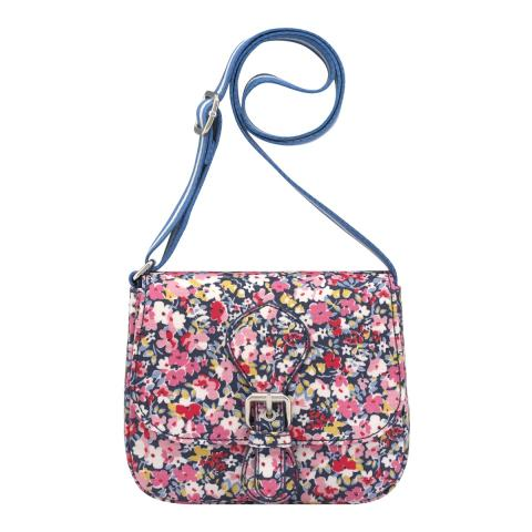CROSS BODY SATCHEL PAPER DITSY