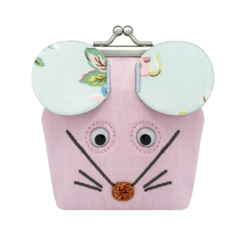 NOVELTY MOUSE MINI CLASP PURSE