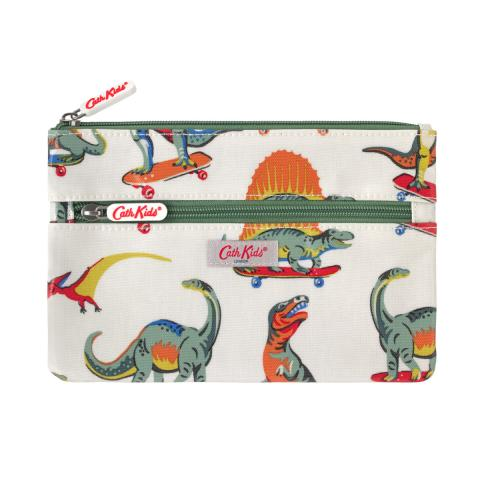 PENCIL CASE SKATEBOARD DINO